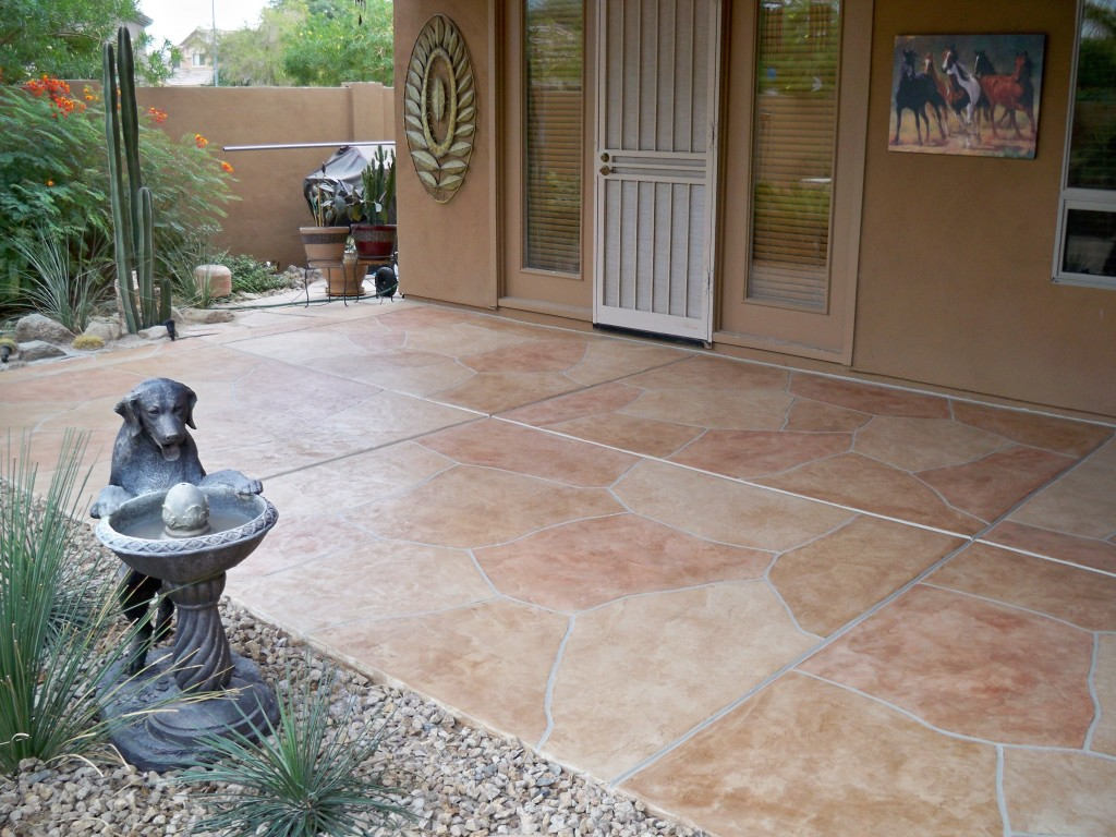 Best Tiles For Backyard : Flagstone Patio Coatings  AZ Creative Surfaces 4805829191
