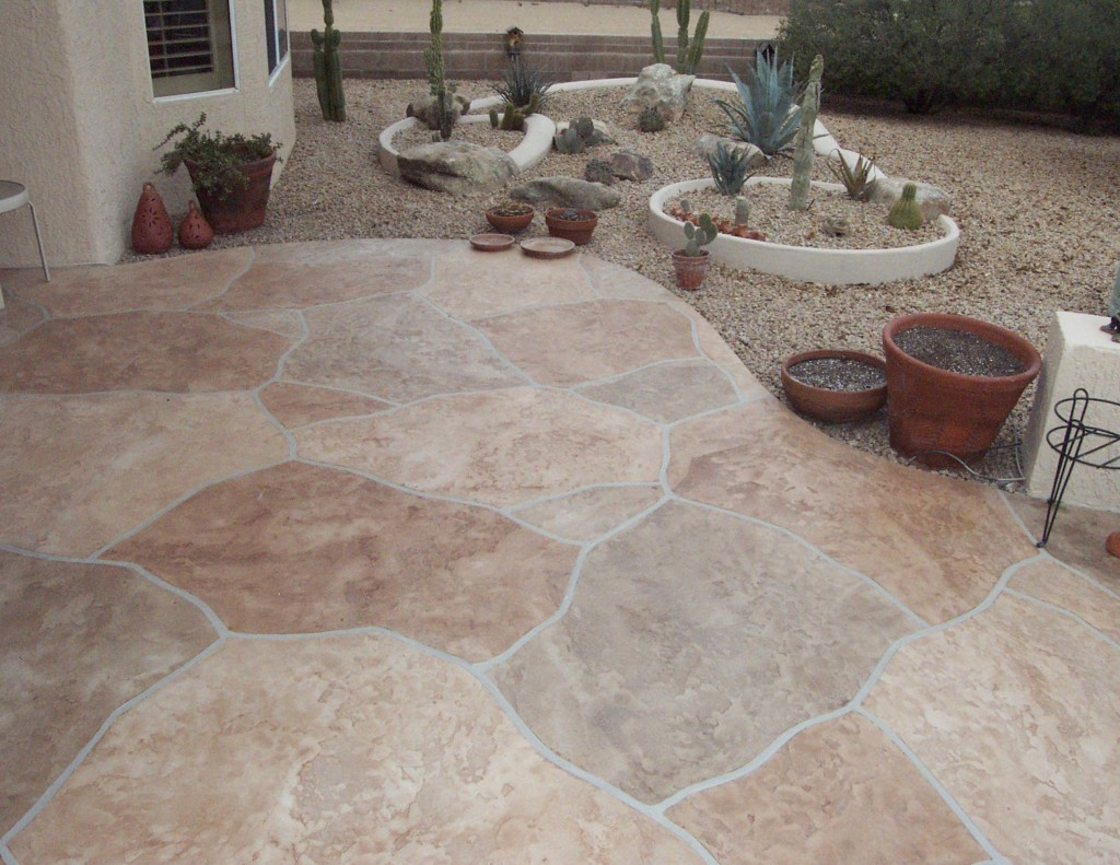 Flagstone patio concrete modern patio outdoor for Flagstone patio designs