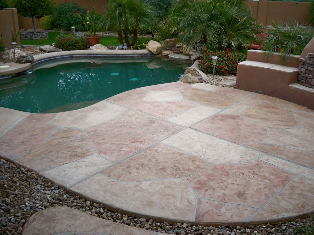 Flagstone pool deck problems endearing flagstone pool deck Flagstone pavers around pool