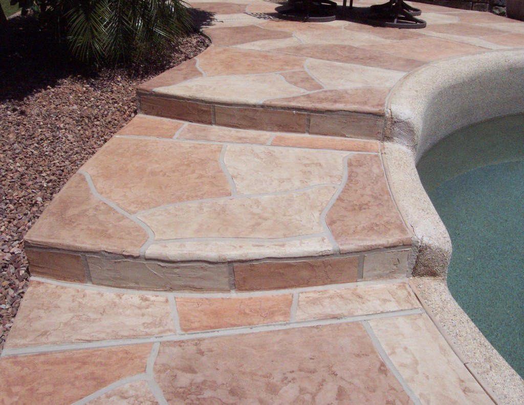 Flagstone Pool Deck Coatings