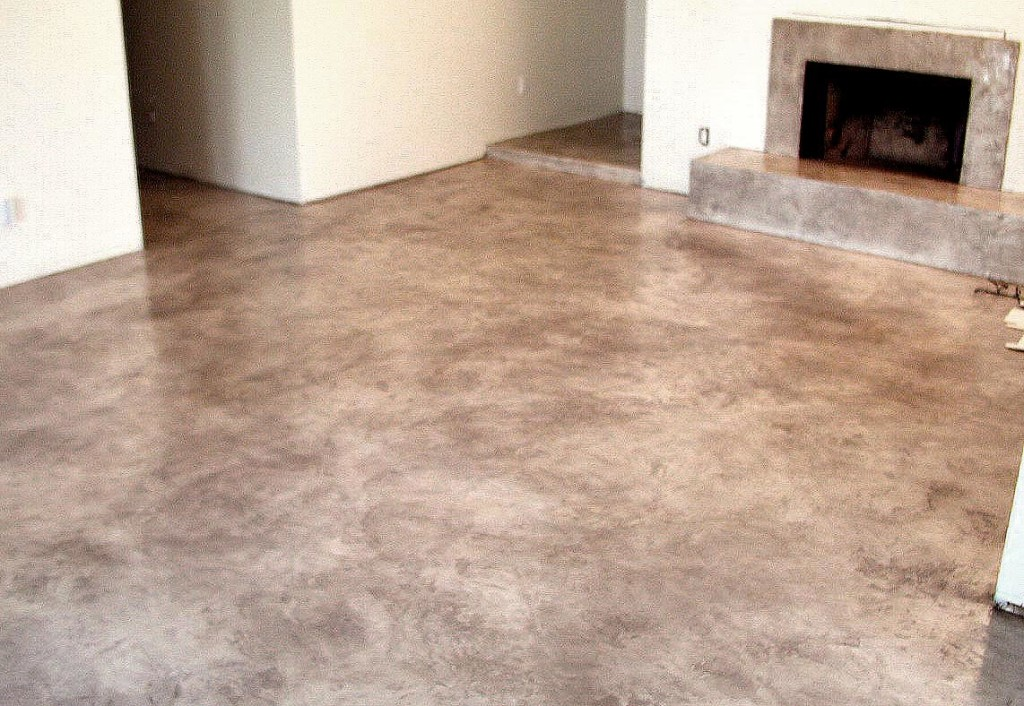 Colored Interior Concrete Floor : Slate texture interior az creative surfaces