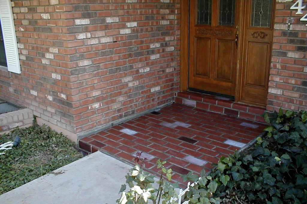 Used Brick Entry Way-2