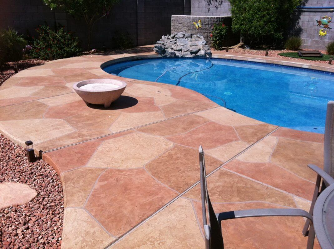 Flagstone Pool Deck 13