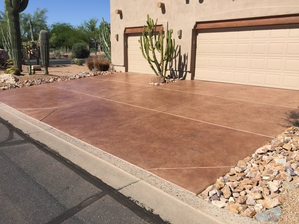 Slate Driveway Coatings By Az Creative Surfaces 480 582 9191